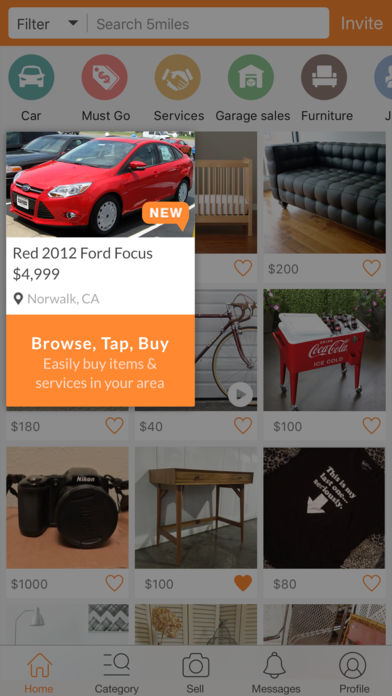 5miles: Buy and Sell Locally