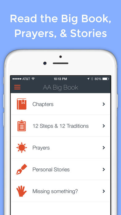 Big Book App – Unofficial Tools for Alcoholics Anonymous