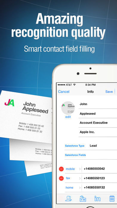 Business card reader pro iphone app app store apps app store business card reader pro colourmoves