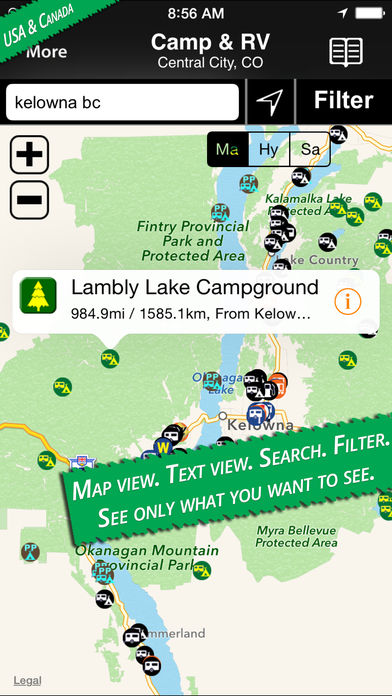 Camp & RV – Tents to RV Parks