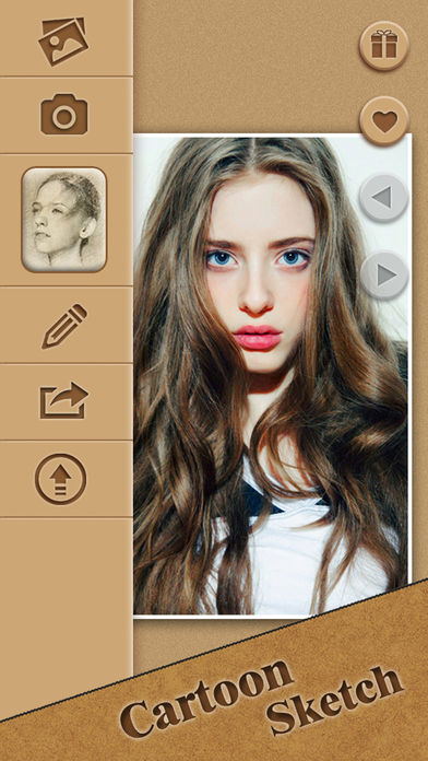 Cartoon Sketch Picture Filters