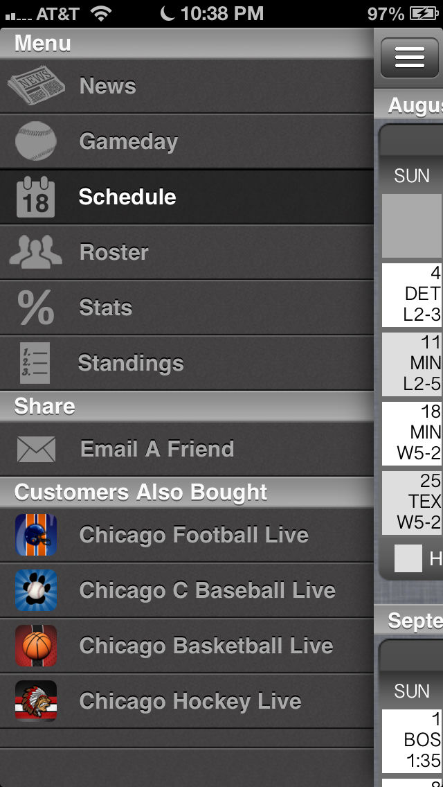 Chicago WS Baseball Live