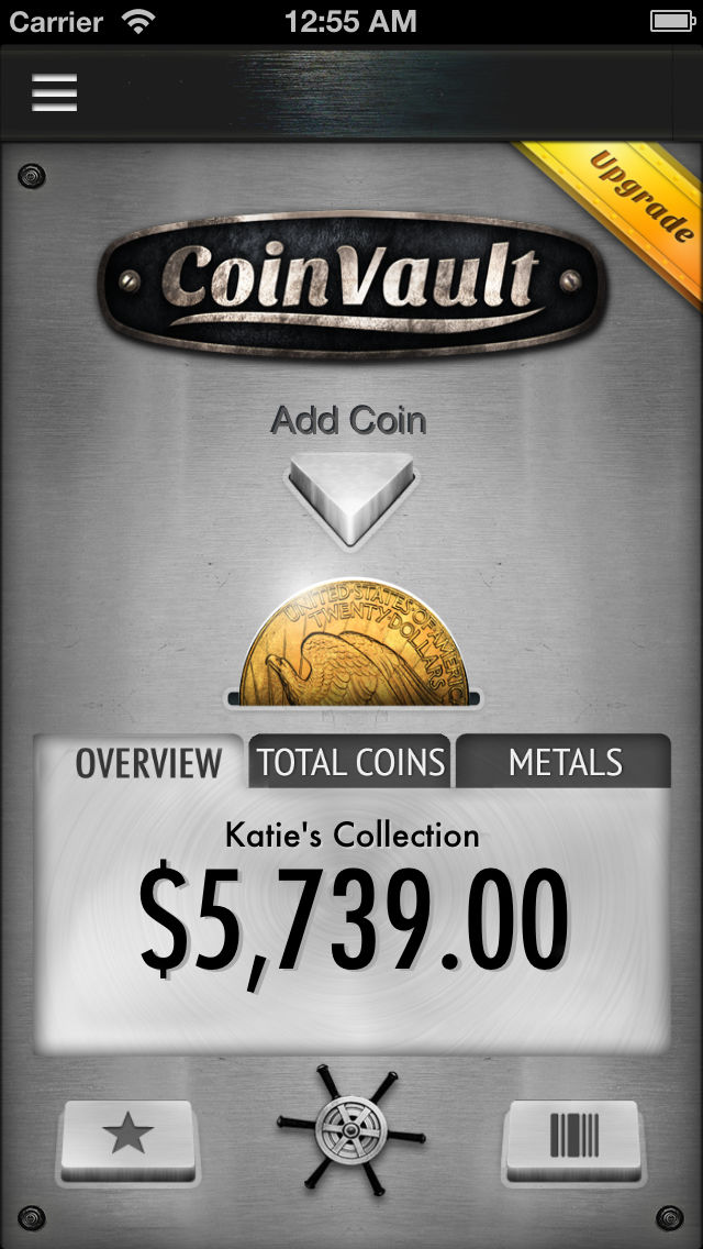 CoinVault – Store Your Coin Collection