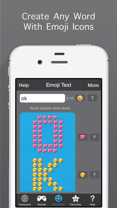 Emojis for iPhone