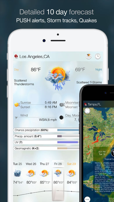 eWeather HD – Weather & Alerts