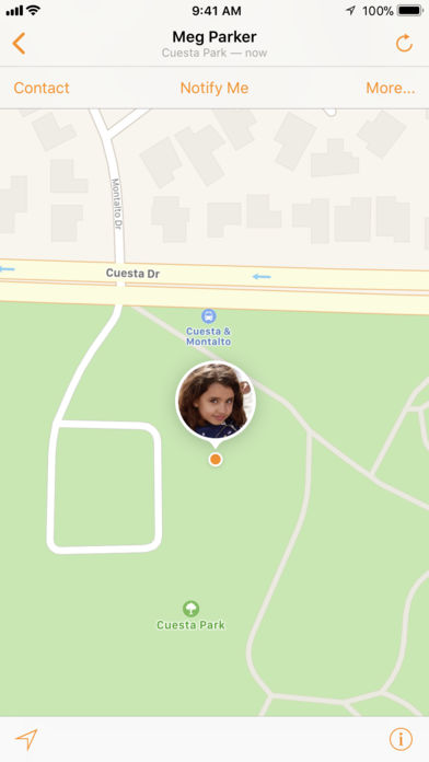 Find My Friends iPhone App - App Store Apps