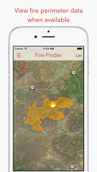 Fire Finder – Wildfire Info, Images and More
