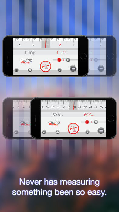 Move to measure – Flying Ruler