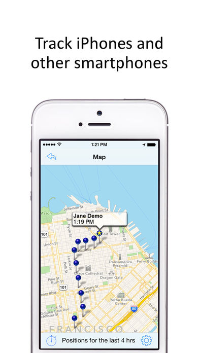 GPS Phone Tracker for Smartphones
