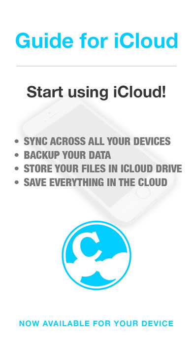 Guide for iCloud & iCloud Drive – Backup & Restore your Photos