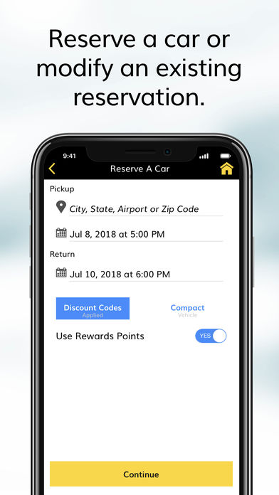 Hertz Car Rental iPhone App - App Store Apps