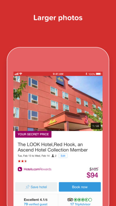 Hotels.com – Hotel booking
