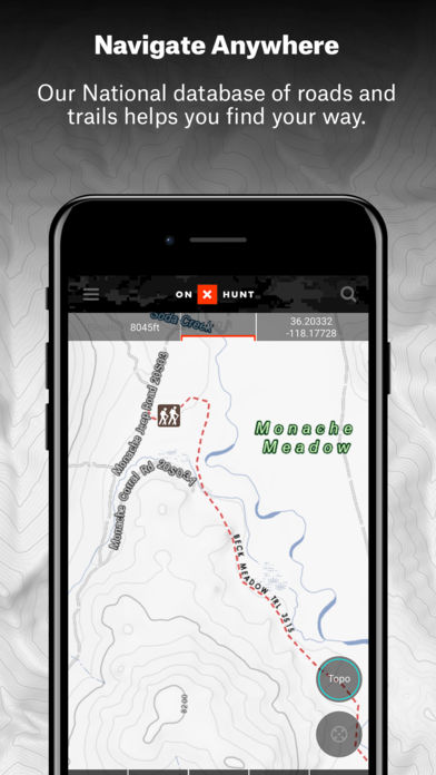 OnX Hunt GPS Hunting App IPhone App App Store Apps - Onx map app