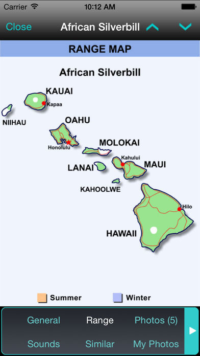 iBird Hawaii & Palau Guide