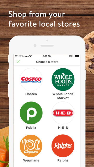 Instacart iPhone App - App Store Apps