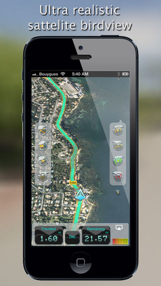 iWay GPS Navigation – Turn by turn voice guidance with offline mode