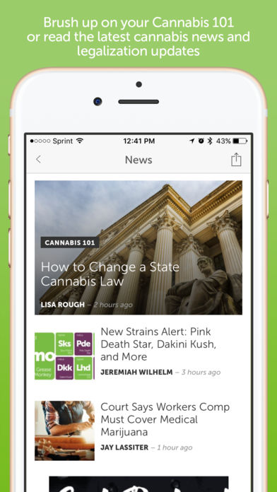 Leafly: Marijuana Reviews