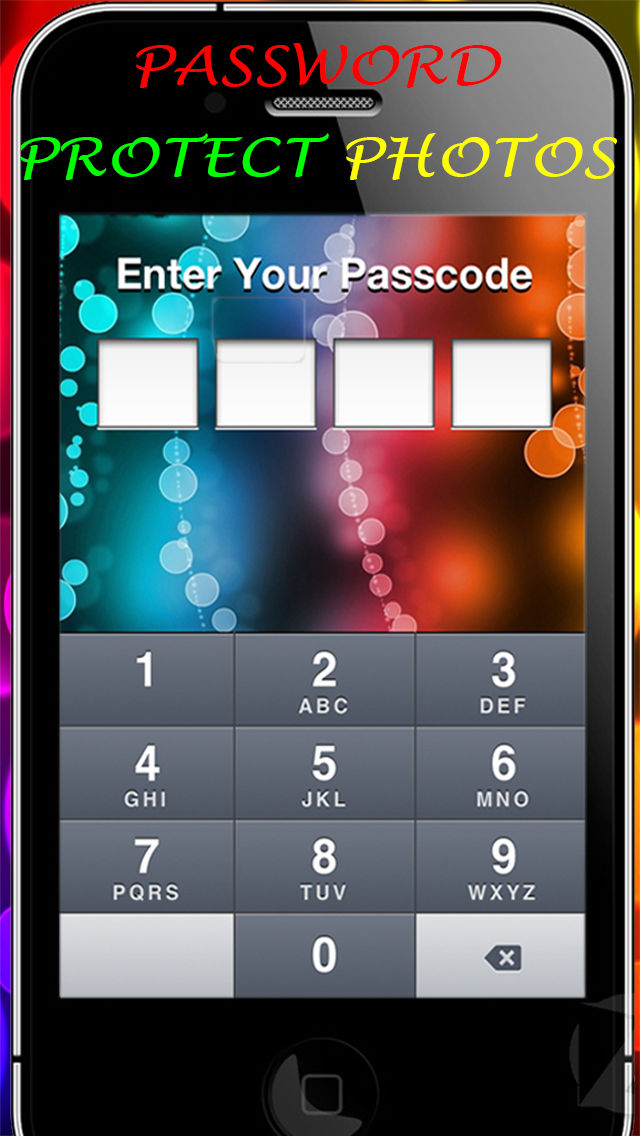 Lock Secret Foto HD – Secure Private Vault Safe & Passcode Manager For iPad/iPhone/iPod