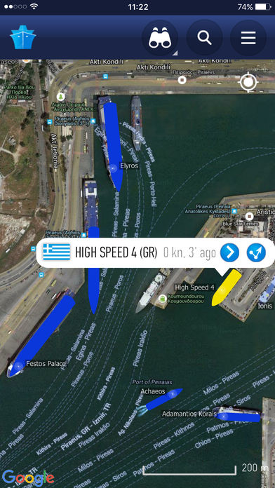 MarineTraffic – Ship Tracking