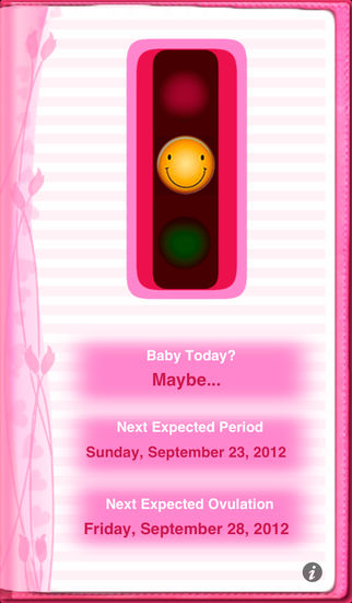 Maybe Baby 2016 Lite – Fertility / Ovulation Diary, Period Tracker, Menstrual Calendar, Pregnancy & Gender Predictor