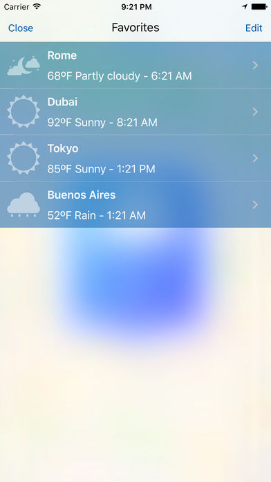 Meteo – Local Weather Forecasts and Hazard Alerts