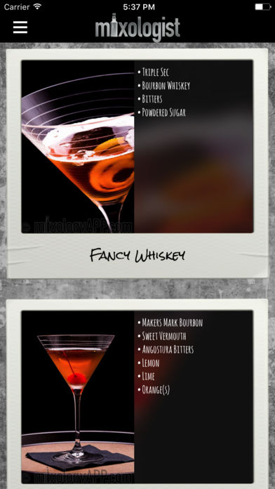 Mixologist™ Drink & Cocktail Recipes