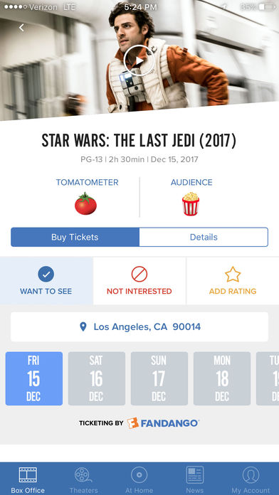 Flixster – Showtimes + Tickets