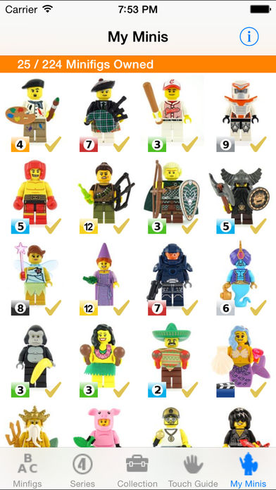 MyMinis – For LEGO® Minifigs