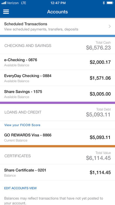 Navy Federal Credit Union iPhone App - App Store Apps