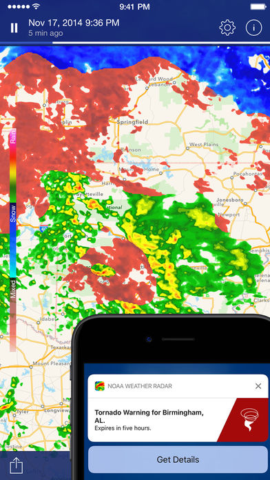NOAA Weather Radar Live