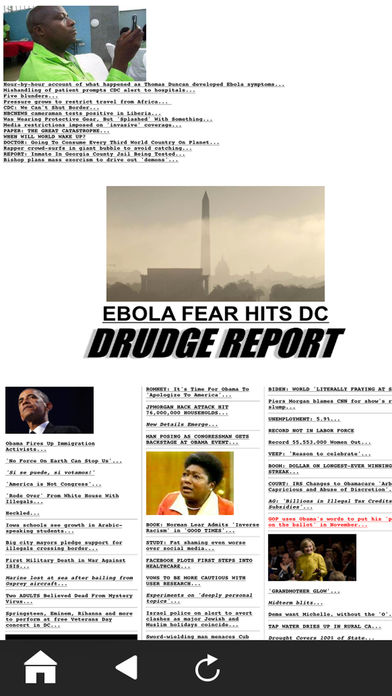 Official Drudge Report (Free) iPhone App - App Store Apps