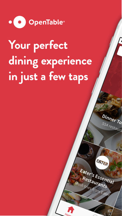 OpenTable IPhone App App Store Apps - Open table dinner