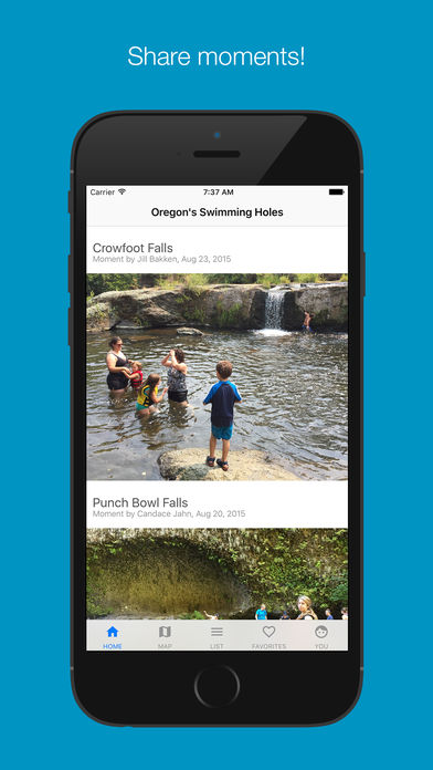 Oregon's Swimming Holes
