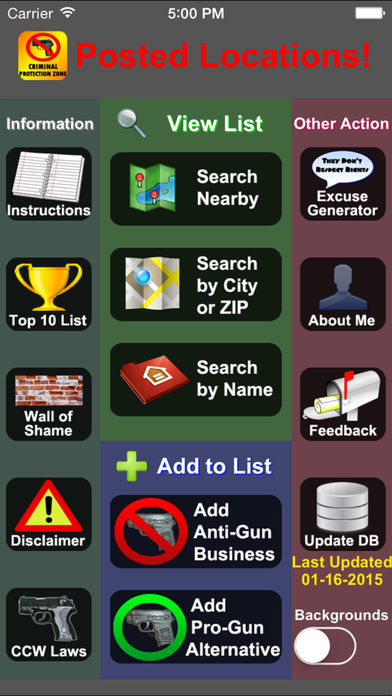 Posted! – List Pro & Anti-Gun