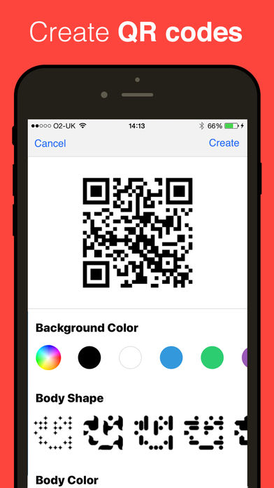 QR Reader for iPhone