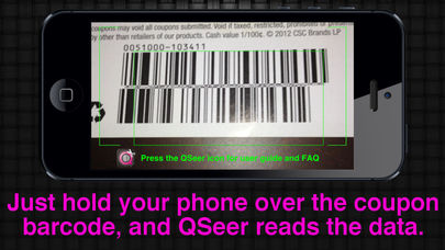 QSeer Coupon Reader