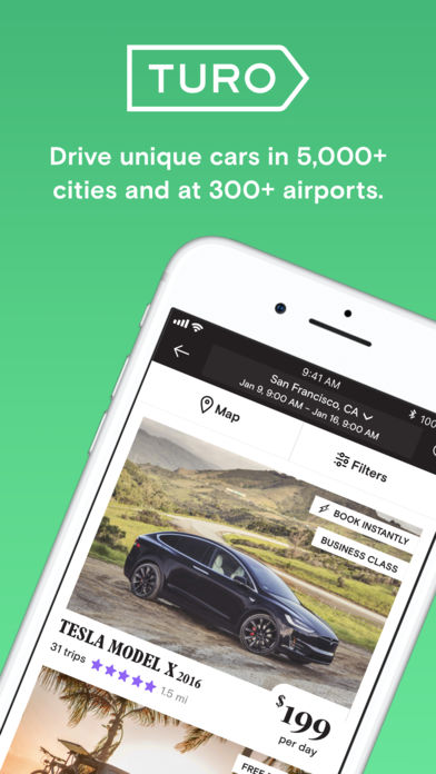 Turo – Better Than Car Rental
