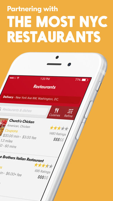 Seamless – Local Food Delivery