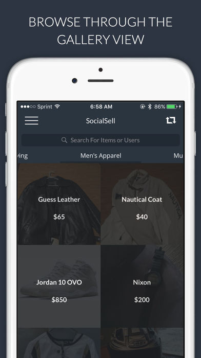 SocialSell – Buy and Sell Used and New Items Locally, Shop Deals Near You