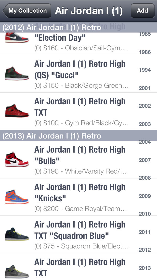 SPG: Sneaker Price Guide & Release Dates