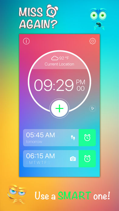 Step Out! Smart Alarm Clock