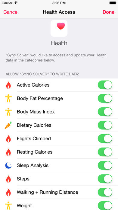 Sync Solver for Fitbit