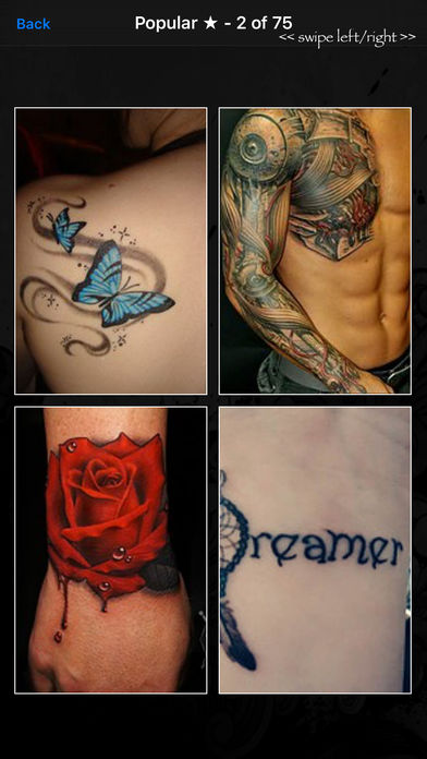 tattoo designs pro iphone app app store apps. Black Bedroom Furniture Sets. Home Design Ideas