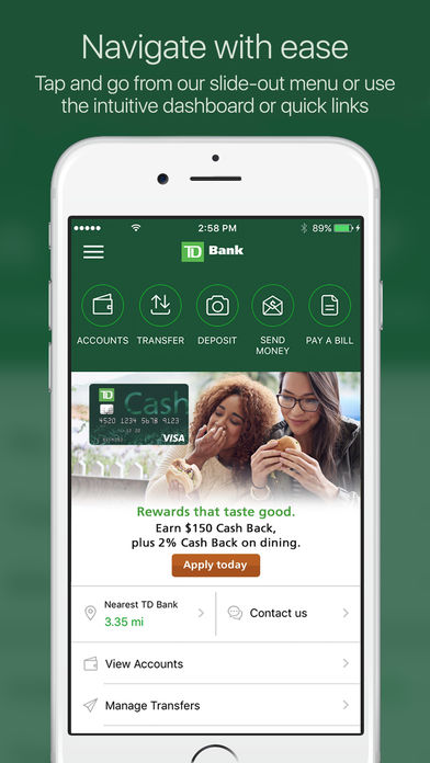 TD Bank (US) iPhone App - App Store Apps