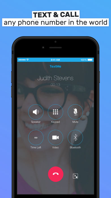 Text Me! - Phone Calls + Text iPhone App - App Store Apps
