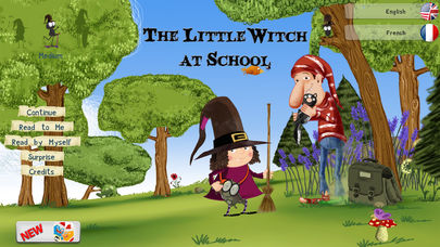 The Little Witch at School