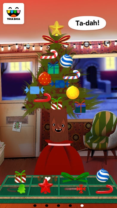 Toca Hair Salon – Christmas