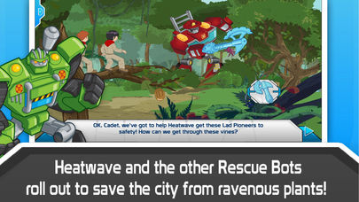 Transformers Rescue Bots: Sky Forest Rescue