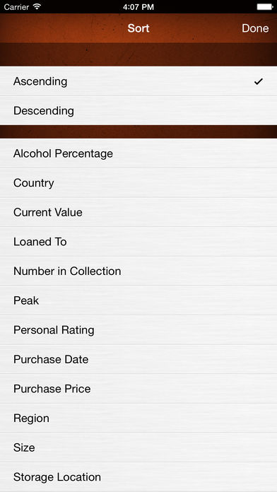 Wine Collectors: Inventory your Collection