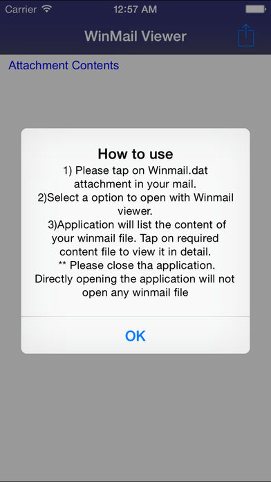 Winmail dat Viewer for iPhone 6 and iPhone 6 Plus